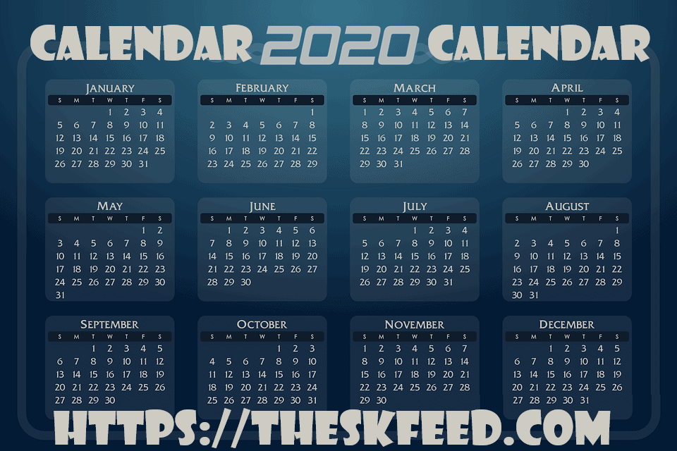How to use calendar to maximize your day in 2020?