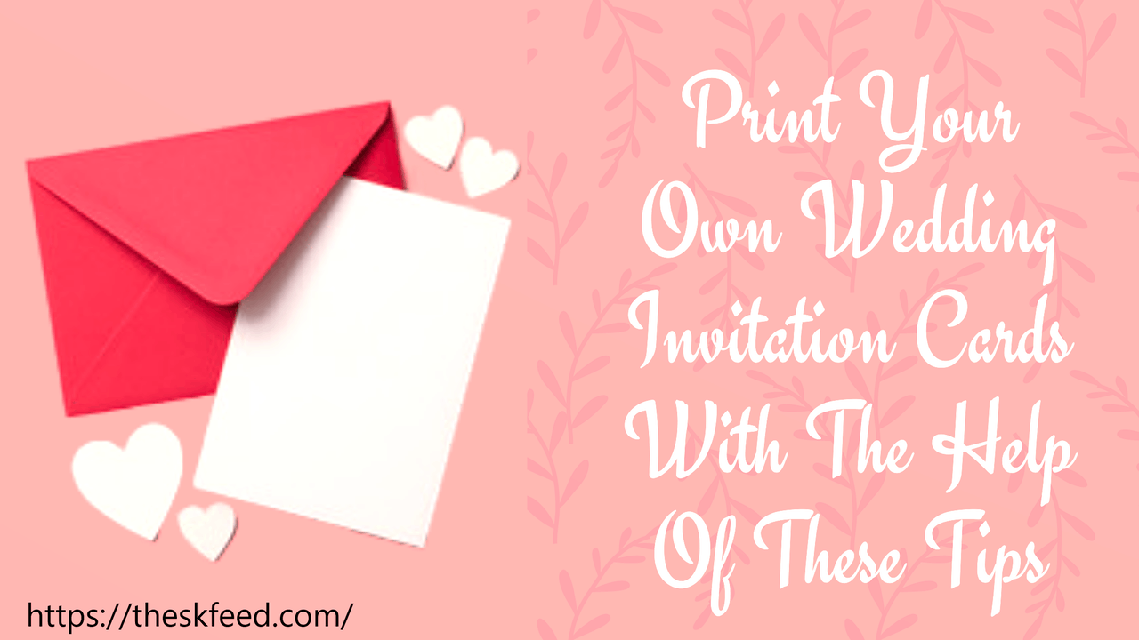 your own wedding invitations