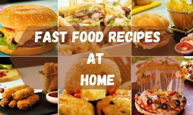 top fast food recipes in india