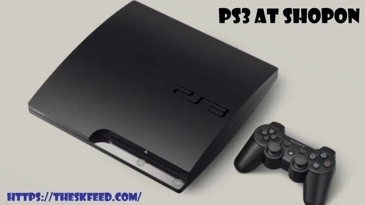 PS3 at Shopon